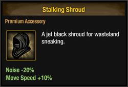 Stalking shroud