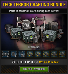 Tech Terror Crafting Bundle