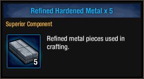 Refined Hardened Metal