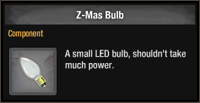 Z-Mas Bulb 2018