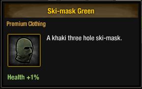 Tlsdz ski-mask green