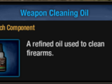 Weapon Cleaning Oil