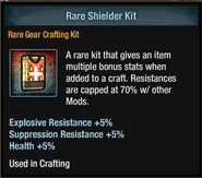 Tlsdz crafting kit - rare shielder kit