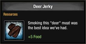 Deer Jerky