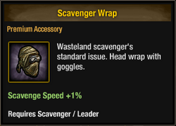 Scavenger Wrap