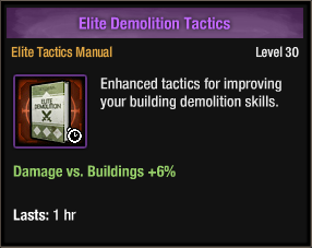Elite Demolition Tactics