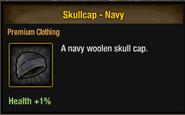 Skullcap navy