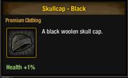 Skullcap black