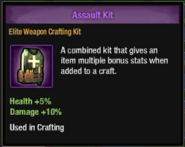 Assault kit