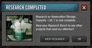 Completed research project