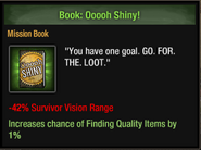 Book, ooh, shiney!