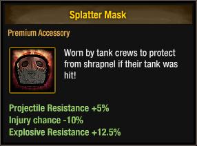 Splatter Mask