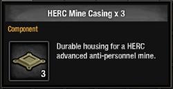 Herc mine casing