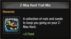 Z-Mas Hunt Trail Mix