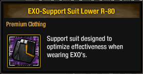 EXO-Support Suit Lower R-80
