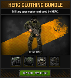 HERC Clothing Bundle