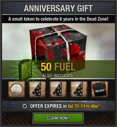 Anniversary Gift 2018