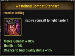 Tlsdz wasteland combat standard