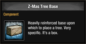 Z-Mas Tree Base 2015