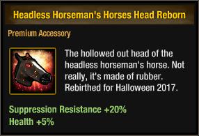 Headless Horseman's Horses Head Reborn