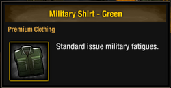 Military Shirt - Green