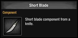 Short Blade