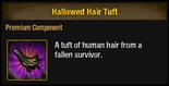 Hallowed Hair Tuft