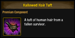 Hallowed Hair Tuft