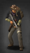 Survivor with scoped PDW-R