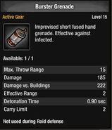 Burster Grenade
