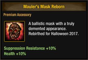 Mauler's Mask Reborn