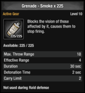 Grenade - Smoke