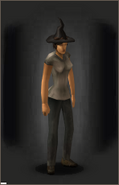 The Witch Reborn equipped female