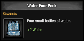 Water Four Pack