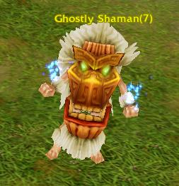 Ghostly Shaman