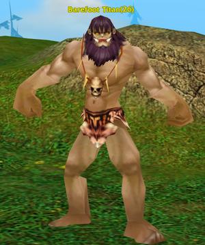 Barefoot Titan