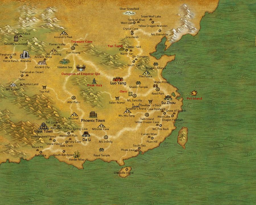 Maps | TLBB EU Wiki | FANDOM powered by Wikia