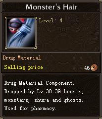 Monster's Hair