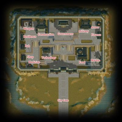 Guild City map