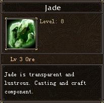 Jade ore