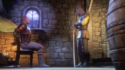 Киан и офицер
