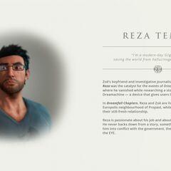 Ранняя версия профайла персонажа