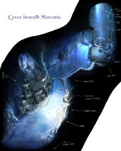 Пещеры под Меркурией концепт