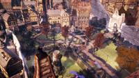 Панорама сквера