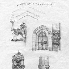 Элементы интерьера Небесного замка