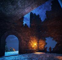 Dreamfall Chapters крепость кеен смотровая площадка