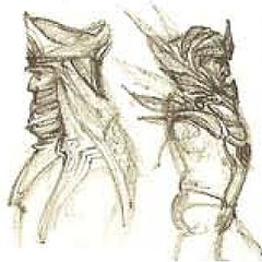 Ранний концепт-арт брони азади для DF
