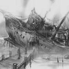Корабль на Болотах