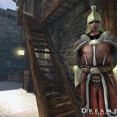 Ранняя модель стражника азади в DF