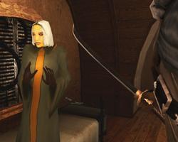 Киан угрожает На'ане